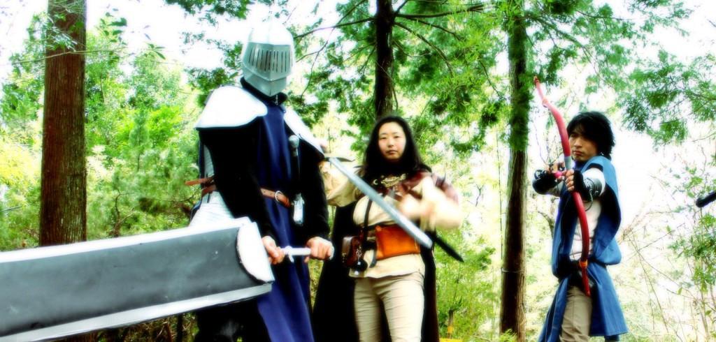剣と魔法の世界へようこそ! あなたもファンタジーを体験できるLARPゲーム